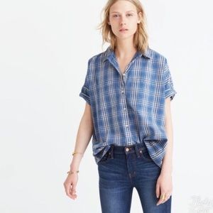 Madewell courier shirt small